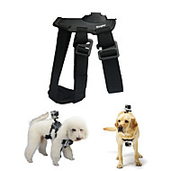 Kingma  Dog Harness Chest Fetch Strap Camera Mount for GoPro Hero 4 / 2 / 3 / 3+ / SJ4000 -Black