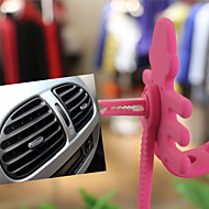 Lovely Monkey All-In-1 Airframe Compatible on Car's Air Vent and Other Places for Kinds of Cell Phones(Assorted Colors)