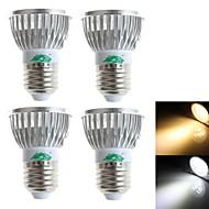 Zweihnder Lâmpadas de Foco de LED Decorativa E26/E27 3W 280 LM 3000-3500/6000-6500 K Branco Quente / Branco Frio 3 LED Dip 4 pçsAC