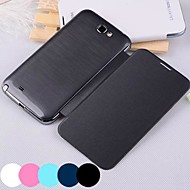 BIG D Solid Color PU Full Body Case for Samsung Galaxy Note 2 N7100