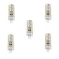 5 Stück Dimmbar Mais-Birnen/Bi-Pin-Lampen G4 8 W 720 LM 2800-3200/6000-6500 K 120 SMD 3014 Warmes Weiß/Kühles Weiß AC 220-240 V