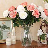 set van 2 natuurlijke stijl rozen simulatie