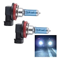 H11 55W Super White HID Xenon Halogen Bulb Headlight for Cars (DC 12V/ pair)