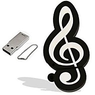 cartoon musical note Modell 16GB USB 2.0 Flash Stick