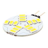Luces de Doble Pin G4 3.5 W 15 SMD 5730 180-320 LM Blanco Cálido/Blanco Natural AC 12 V