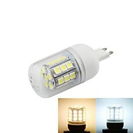 1pcs G9 5W SMD 5050 648LM 2800-3500/6000-6500K Warm White/Cool White Corn Bulbs AC 220-240V