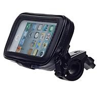 M05 motorcykel vand cykel resistent holder står for gps, iPhone 5 (sort)