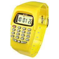 Παιδικά Μοδάτο Ρολόι Ρολόι Καρπού Ψηφιακό ρολόι Χαλαζίας Ψηφιακό Μπάντα Γλυκά Κίτρινο Κίτρινο
