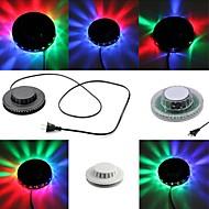 UFO Sunflower 8W 48-LED RGB Light Effect Auto Rotating Party Club Pub Disco Stage Lamp (AC85-260V)