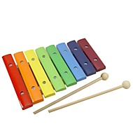 benho colore 8 scale musica xilofono strumento giocattolo del bambino