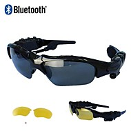 Bluetooth 4.1 Sunglasses Style Wireless Sport Stereo Bluetooth Headset Headphone (Send Night-Vision Lens)