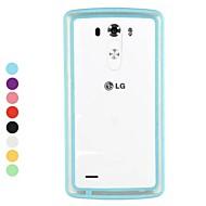 skrzynki pokrywy - LG G3 - Plastik/TPU - Specjalny kształt - ( Inne )