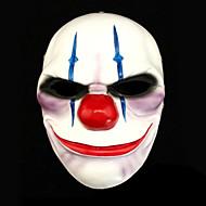 salaire 2 chaînes masque de résine pour la fête de Halloween (1 pc)