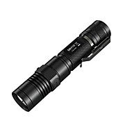 Nitecore® פנס LED LED 1000 Lumens 4 מצב קריס XM-L2 U2 18650 / CR123Aעמיד למים / ניתן לטעינה מחדש / עמיד לחבטות / אחיזה נגד החלקה / תופסן