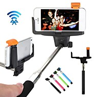 Doopootoo® Wireless Bluetooth Shutter Selfie Monopod Stick Holder for iPhone and Android Mobile Phone (Assorted Colors)