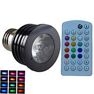 Spot LED Gradable / Audio-activé / Commandée à Distance / Décorative RGB SchöneColors® 1 pièce MR16 E14 / GU10 / B22 / E26/E27 4W 1PCSLED