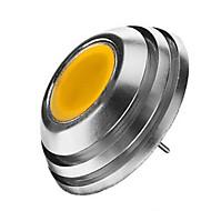 3W G4 LED szpotlámpák 1LED COB 300-450 lm Meleg fehér / Hideg fehér DC 12 V 1 db.