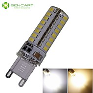 G9 6W 64x3020SMD 550LM 3500K 6000K Warm White/Cool White Waterproof LED Corn Bulbs AC110-130V AC220-240V