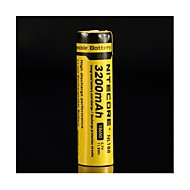 18650 3100mAh 3.7V Li-ion rechargeable batteries de Nitecore