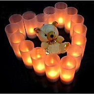 Romantic LED Candle Pattern Night Light(1PS)