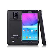 Samsung galaxy not 4 4800ma yeni dış koruyucu pil kutusu (çeşitli renk)