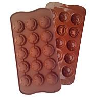 ekologiczny moda uśmiech silikon podłubać ciasto czekoladowe narzędzia kuchnia barware