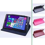 original stand pu cuero proteger la cubierta del caso de tableta Chuwi pc vi8