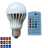1pcs SchöneColors® E26/E27/B22 10W Dimmable/Music-controlled/Remote-Controlled/Decorative Globe Bulbs AC85-265V