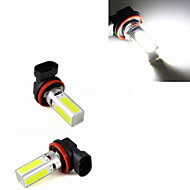 1 pcs  H11 5W 4 X SMD 5050 300-600LM 6500-7500K Cool White Decorative Decoration Light DC 12V