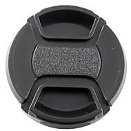 mengs® 55mm composant logiciel enfichable sur la couverture du capuchon d'objectif avec de la ficelle / laisse pour Nikon, Canon et Sony