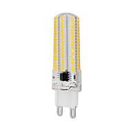 1 шт. G9 10 W 152 SMD 3014 1000 LM Тёплый белый/Холодный белый Регулируемая Лампа типа Корн AC 220-240 V