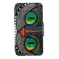 Na Samsung Galaxy Etui Z podpórką / Flip Kılıf Futerał Kılıf Sowa Skóra PU Samsung S6 edge plus / S6 edge / S6 / S5 Mini / S5 / S4 / S3