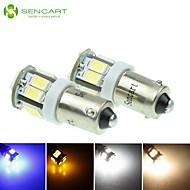 2 X BA9S W6W 5W 11x5630SMD 550LM Blue/Warm White/Yellow/Cool White for Car Side Lamp (DC12-16V)