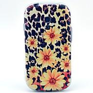 のために Samsung Galaxy ケース パターン ケース バックカバー ケース フラワー TPU Samsung S4 Mini / S4 / S3 Mini / S3
