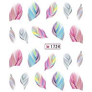 1 Adesivos para Manicure Artística Transferência de água adesivo Desenho Adorável maquiagem Cosméticos Designs para Manicure
