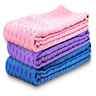 WINMAX® Non Slip/Eco Friendly/Waterproof/Pink/Blue/Purple 3 mm Thick polyester Yoga Towels with Black Bag Packing