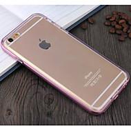 Varten iPhone 6 kotelo / iPhone 6 Plus kotelo Iskunkestävä Etui Takakuori Etui Yksivärinen Pehmeä TPU iPhone 6s Plus/6 Plus / iPhone 6s/6
