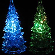 Multicolor Romantic Christmas Tree Pattern Night Light