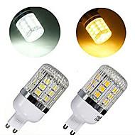 1 pcs G9 7W 30X SMD 5050 600LM 2800-3500/6000-6500K Warm White/Cool White Corn Bulbs AC 220V