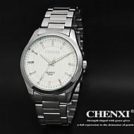 CHENXI® 男性 ドレスウォッチ クォーツ 日本産クォーツ ステンレス バンド ラグジュアリー