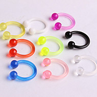 Women's Body Jewelry Nose Rings/Nose Stud/Nose Piercing Nose Piercing Acrylic Unique Design Fashion Jewelry Jewelry Daily Casual 1pc