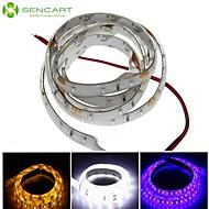 Bandes Lumineuses LED Flexibles - DC12 - ( V ) - 3.5 - ( W Blanc/Jaune/Bleu 60 - 1 - ( M ) - ( Etanche/Découpable )