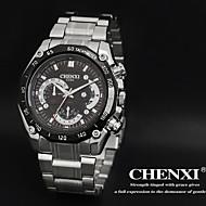 CHENXI® 男性 ドレスウォッチ クォーツ 日本産クォーツ ステンレス バンド