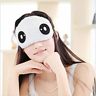 joli visage de panda de sommeil Voyage d'oeil opaque masque