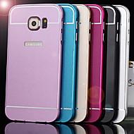 Varten Samsung Galaxy kotelo Iskunkestävä Etui Takakuori Etui Yksivärinen Akryyli Samsung S6 edge