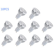 10 pcs Bestlighting GU10 6 W 5 High Power LED 400 LM Warm White / Cool White MR16 Spot Lights AC 85-265 V