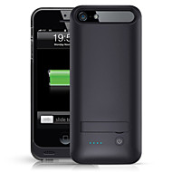 iFans ® MFI 2400mAh IPhone5s Battery Case External Removable Backup Power Charger Case for iPhone5/5s(Black)
