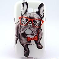 Για Samsung Galaxy Θήκη Με σχέδια tok Πίσω Κάλυμμα tok Σκύλος TPU Samsung Trend Lite