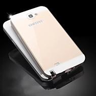 projeto especial de cobertura de cor sólida de metal traseira e pára-choques para Samsung Galaxy Note N7100 2 (cores sortidas)