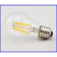Lampade LED a incandescenza 8 COB E26/E27 8 W Decorativo 660 LM Bianco caldo 1 pezzo AC 85-265 V